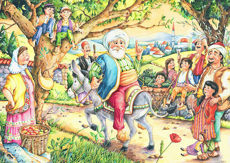 Nasreddin's Visitors